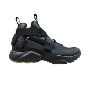 Nike Air Huarache City Black Athletic Sneakers